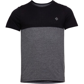 Triple2 Tuur Merino Tencel T-shirt Heren, anthracite